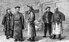 Lamas et Mongols de l'Ala-chan