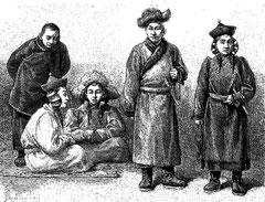 Mongols et Mongoles Khalkhas
