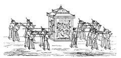Chaise à porteurs impériale