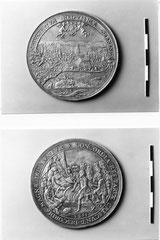 Friedrich Fecher(1612-1653) Belohnungsmedaille Berns für den Sieg über den Bauernaufstand von 1653