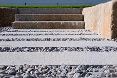 Stiegenanlage Naturstein