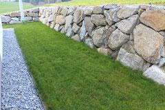 Steinmauer Klasse 4
