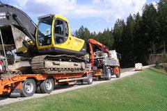 Baggertransport