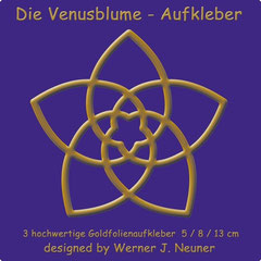 Venusblume-Aufkleber