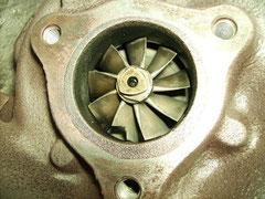 Turbolader Pumpen- Schaufel abgebrochen
