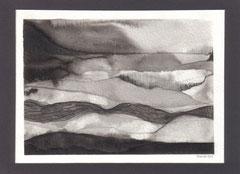 ca.15x11cm Tinte ,Bleistift auf Aquarellpapier. 2009