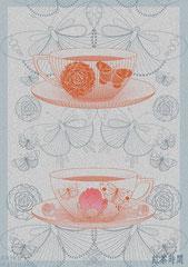 紅茶時間/松岡晶子digital art(ドロー,ペイント)