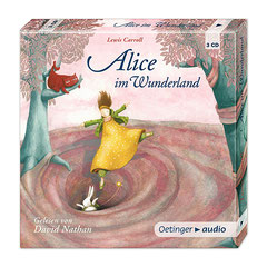 """Alice im Wunderland"" CD box Oetinger audio 2010"