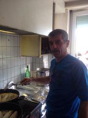 Rolf in der Küche vom Centro