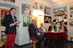 Matthias Laurenz Gräff, Philipp Jauernik, Hannes Swoboda, Emil Brix, Eric Frey