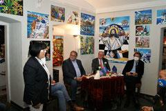 Georgia Kazantzidu, Willi Mernyi, Sebastian Prinz von Schoenaich-Carolath, Helmut Brandstätter