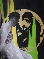 Spiegelreise,  Öl auf Leinwand, 2009
