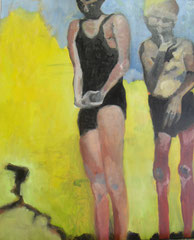 Stunde Null, Öl auf Leinwand, 2011