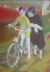Im Schwäbischen, Öl auf Leinwand, 2008