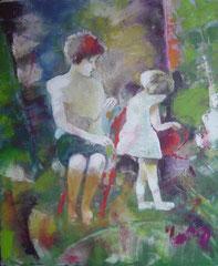 Giesskanne,  Öl auf Leinwand, 2008, Privatsammlung