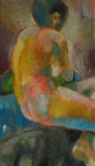 Akt, Öl auf Baumwolle, 2008