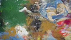 Ozeanisch,  Öl auf Leinwand, 2009, Privatsammlung