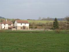 le paysage autour du moulin / Landschaft bei der Mühle