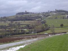 """la Butte de Thil près de Précy-sous-Thil / Der Berg """"Thil"""" bei Précy-sous-Thil"""