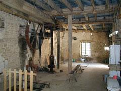 salle technique du moulin / technischer Raum von der Mühle