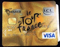 Tapis de souris LCL  Tour de France