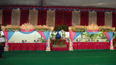 tirumala marriage contractor - name board & entrance 123