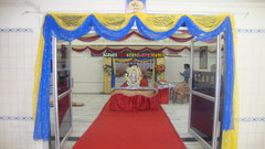 tirumala marriage contractor - name board & entrance 86