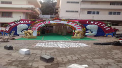 tirumala marriage contractor - name board & entrance 49
