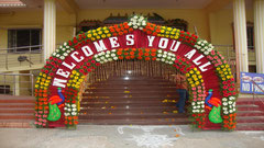 tirumala marriage contractor - name board & entrance 40