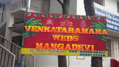 tirumala marriage contractor - name board & entrance 55