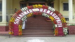 tirumala marriage contractor - name board & entrance 36