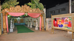 tirumala marriage contractor - name board & entrance 117