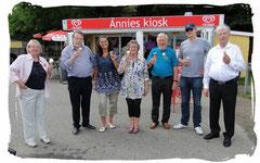 Annies Kiosk ist weltberühmt