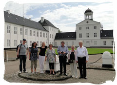 Schloß Gravenstein ist Sommerresidenz des Königshauses