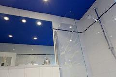 Großer Spiegel mit Dusche