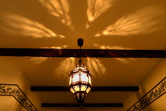 Orientalische Deckenlampe
