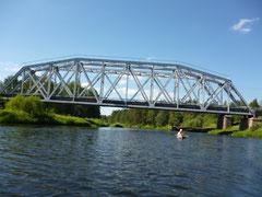 Ж/д мост у ст. Озеро
