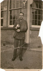 Edwards Leslie Smith after the battle of the Somme