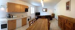 Gîte Casa Bonita - Salon / salle à manger