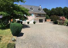 Gîte Casa Bonita et sa cour intérieure