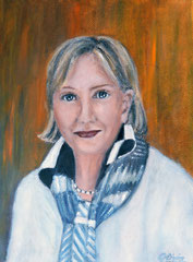 Gisela Oils on canvas, 40x30, commissioned painting