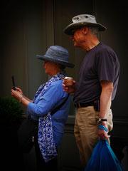 Touristes à Paris - Marie-Angès Barrère