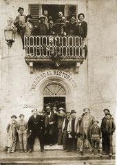 Ristorante il Falcone nel 1908