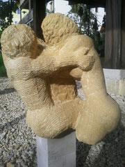Die Liebenden (Sandstein, zu verkaufen)