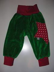 Gras4grüner Nicky und roter Jersey, Grösse 74