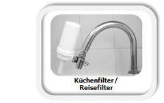 Reisefilter Küchenfilter mit EWO Wasserbelebung