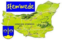 Stemwede ist groß - aber wo ist Wehdem?