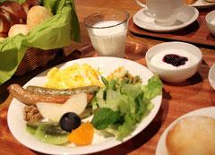 Breakfast full of Miyama specialties