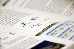 Initiative Luftverkehr für Deutschland: Flyer, Detailansicht
