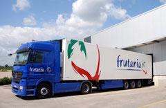 Frutania GmbH - hier: Fahrzeugbeschriftung - ferner: gesamtes Corporate Design
